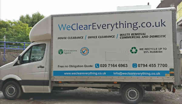 we clear everything truck.