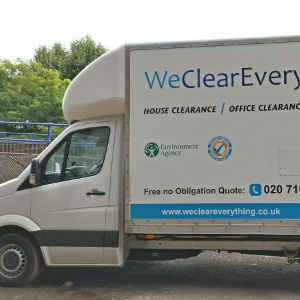 house clearance west london - truck